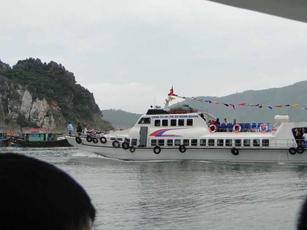 Vé tàu cao tốc Vân Đồn - Cô Tô