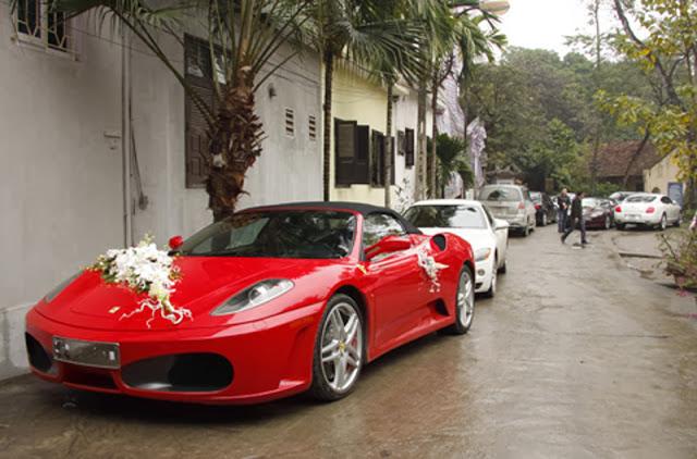 Thuê xe cưới Ferrari F430