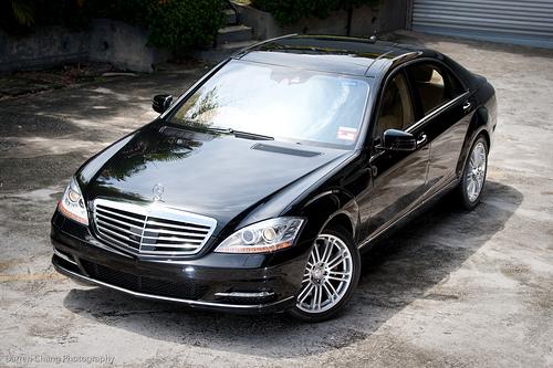 Thuê xe cưới Mercedes S500