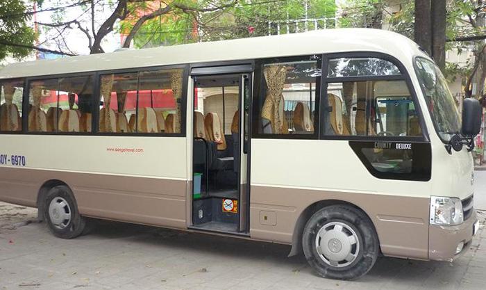 Xe bus đi Mai Châu