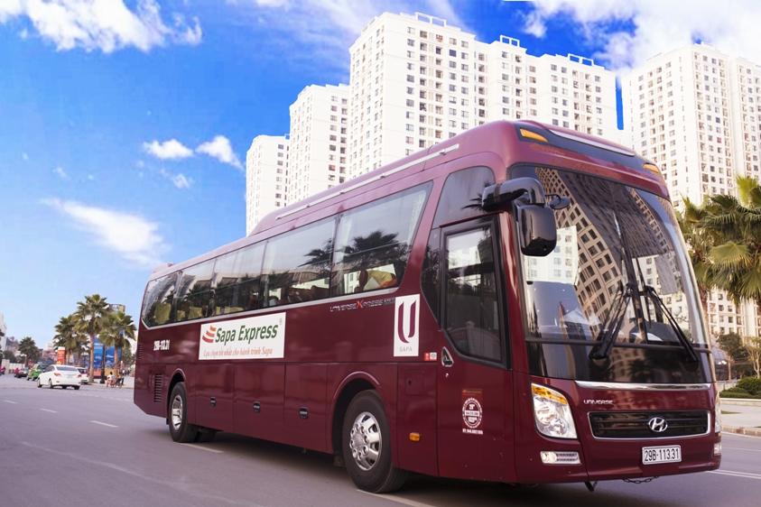 Xe bus đi Sapa Lào Cai