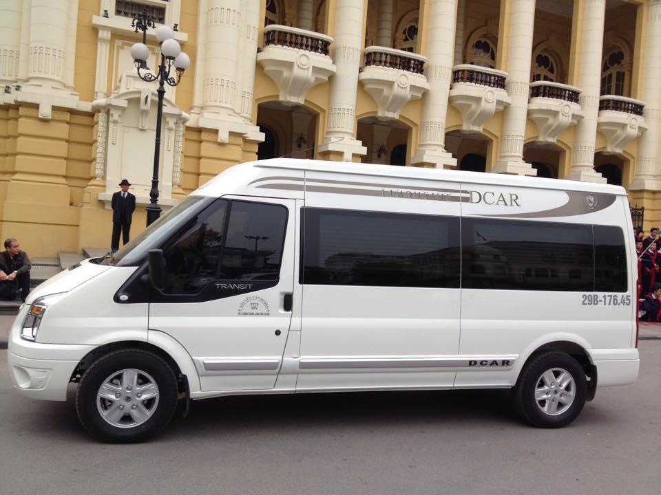 Cho thuê xe limousine dcar đi Yên Tử