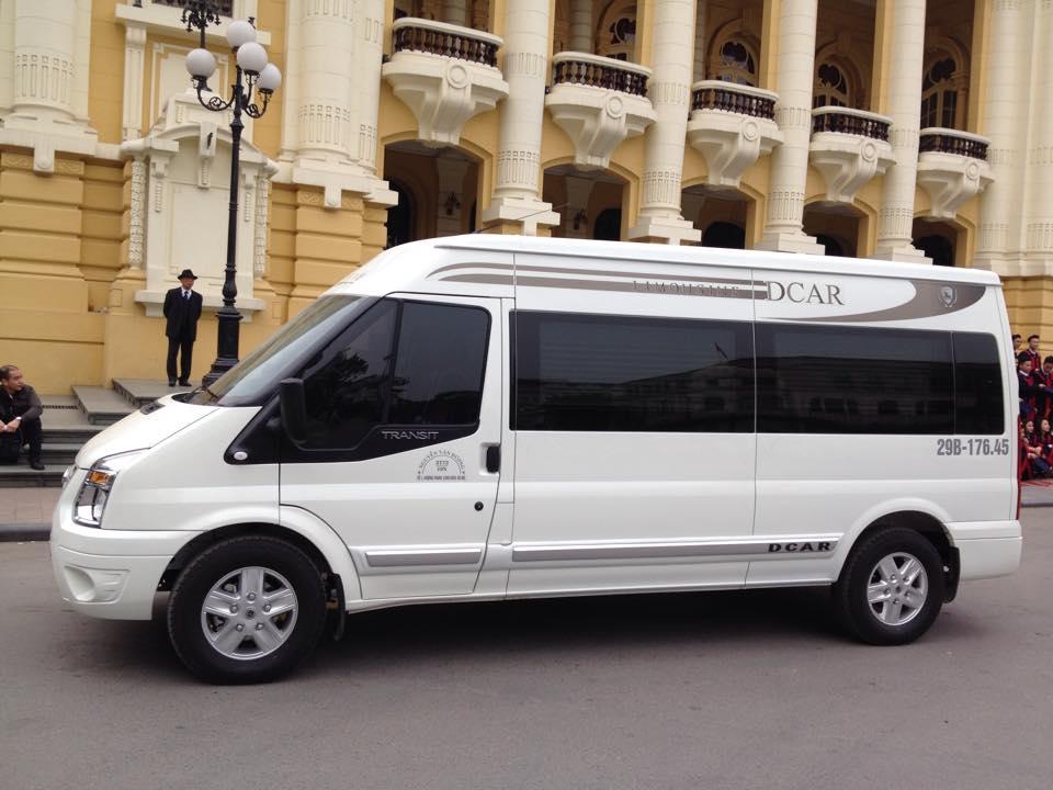 Thuê xe limousine dcar đi chơi Golf Tam Đảo